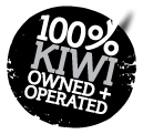 Kiwi owned and operated.